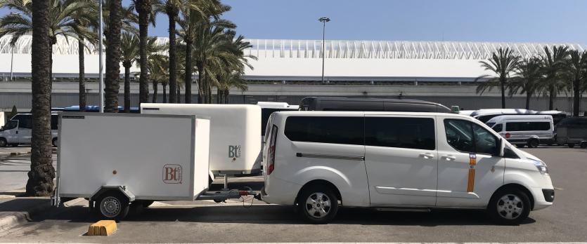 Hôtel taxi et transferts à l'aéroport de Palma de Majorque