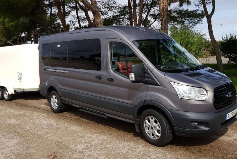 Minibus Majorque