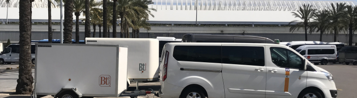 Transferts en taxi vers Cala Mondrago