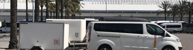 Transferts en taxi de l'aéroport de Porto Colom ou Portocolom