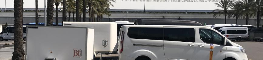 Transferts en taxi de l'aéroport de Majorque à l'hôtel Aparthotel Universal Hotel Aquamarin