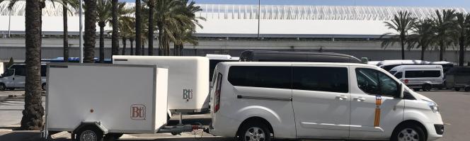 Transferts en taxi de l'aéroport de Majorque à l'hôtel Apartments Siesta III