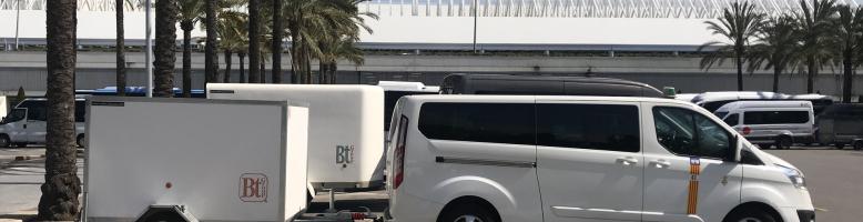 Transferts en taxi de l'aéroport de Majorque à l'hôtel Hostal Mistral