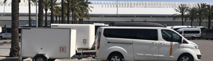 Transferts en taxi de l'aéroport de Majorque à l'hôtel Aparthotel Cecilia