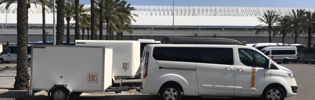Transferts en taxi de l'aéroport de Majorque à l'hôtel Apartments Hoposa Daina