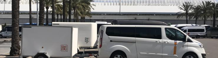 Transferts en taxi de l'aéroport de Majorque à l'hôtel Puerto Azul Suite